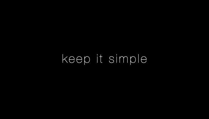 یافتن سادگی