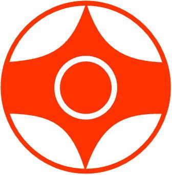 مهمترین سمبل کیوکوشین یعنی کانکو بر روی بازوی چپ استفاده می شود.