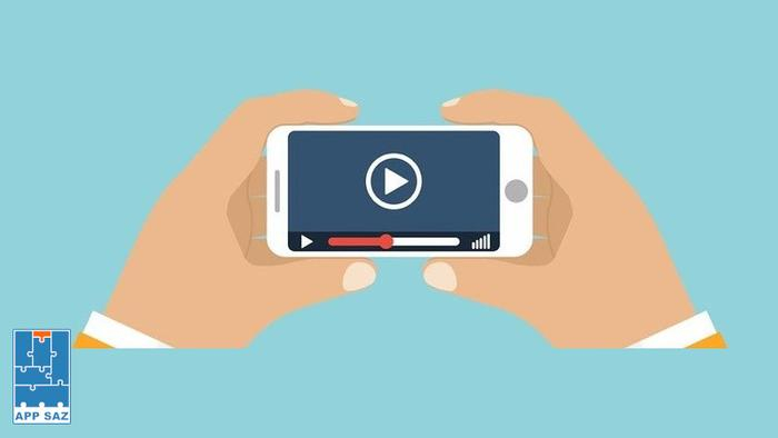 ساخت ویدئو معرفی اپلیکیشن جهت ارتقای کسب و کار