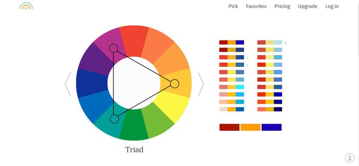 چند ابزار رایگان رنگ برای طراحان UI / UX