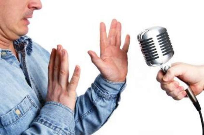 آزمون سنجش ميزان ترس از صحبت كردن در جمع