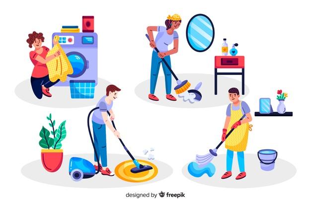 کار خانگی موثر برای همه