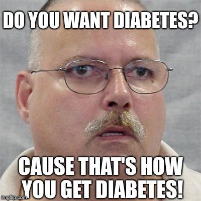 دیابتی که امکان داره بگیرم!