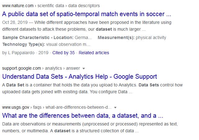تفاوت در ساختار داده های غنی