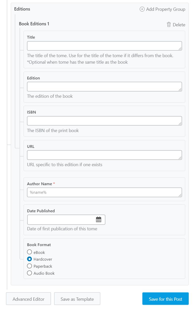 گزینه های موجود برای نسخه کتاب