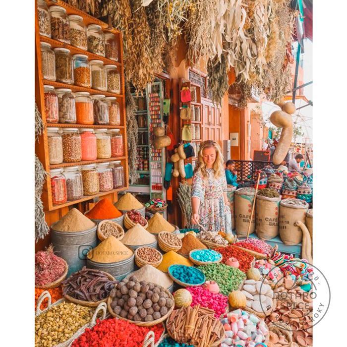بازار ادویه مراکش
