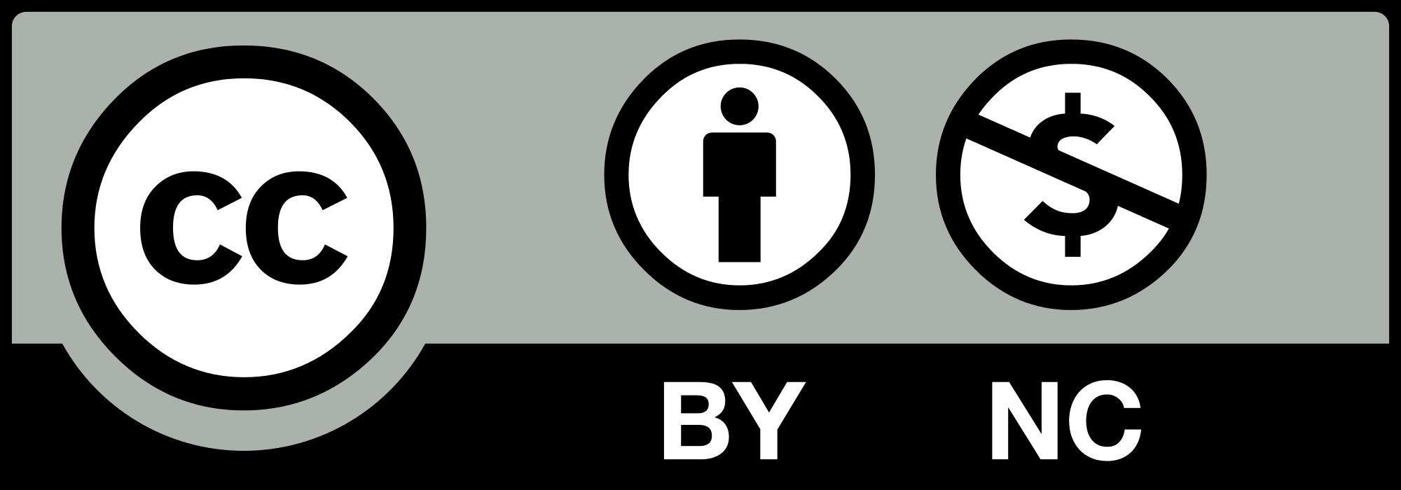 مجوز کریتیو کامنز: قابلیت انتشار همگانی، غیرقابل استفادهی تجاری