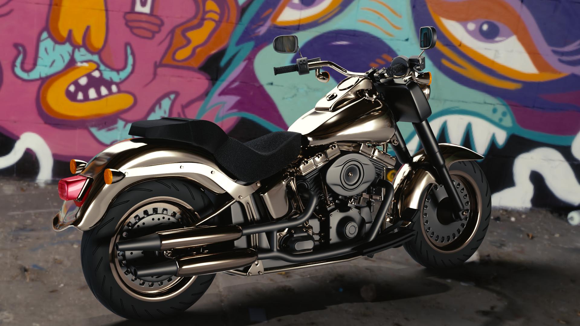 اولین موتورسیکلت ساخته شده من در بلندر در مورخ 20 آبان ماه 98