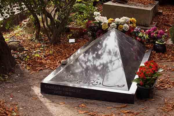 ایرانیان مدفون در قبرستان پرلاشز پاریس | قبرستان پرلاشز پاریس