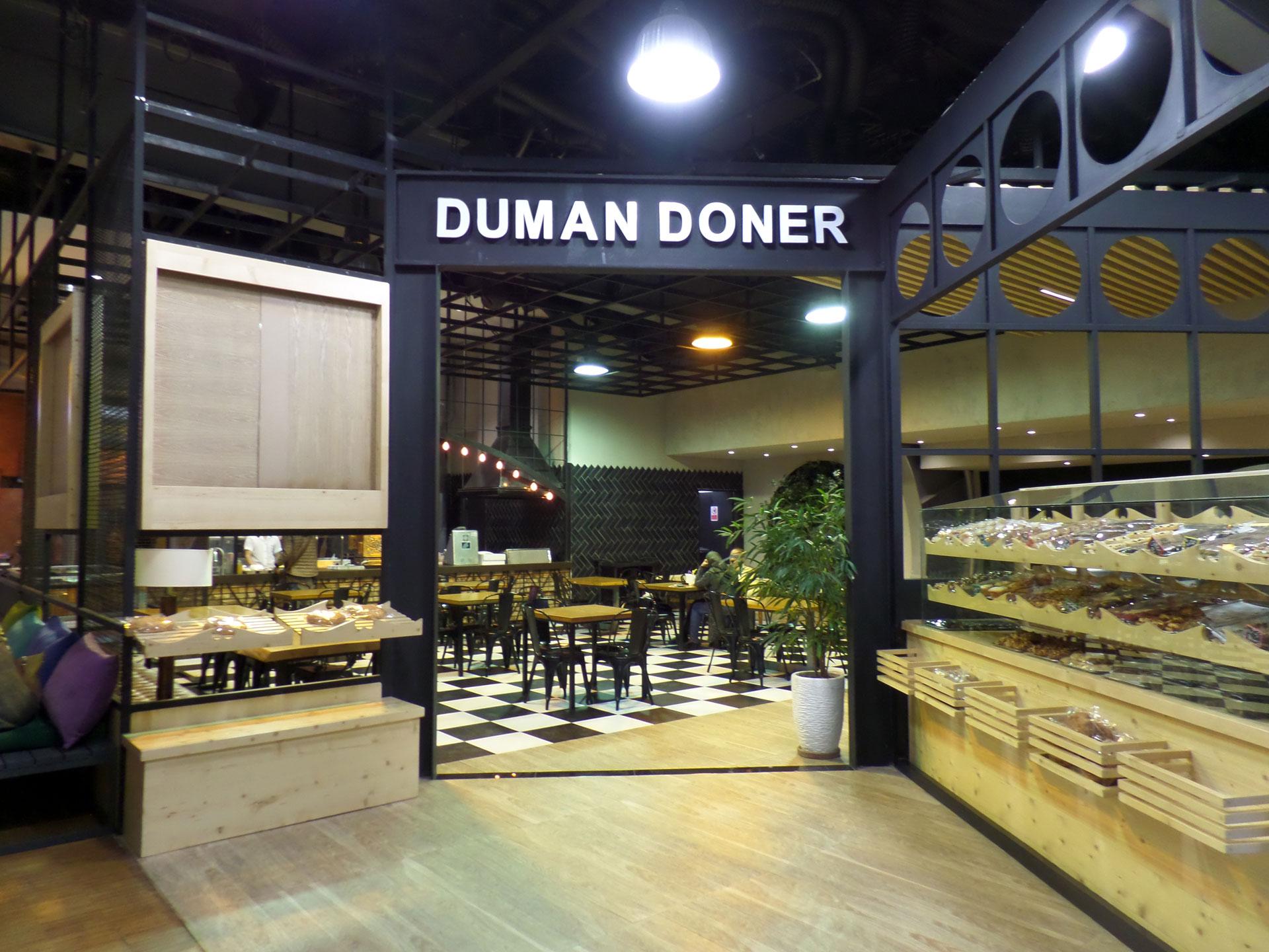 رستوران دومان دونر ، رستوران ترکیه ای مجتمع گردشگری مهر و ماه قم