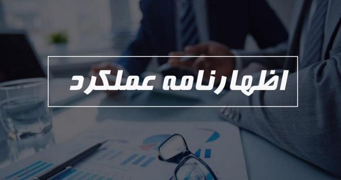 تهیه و تنظیم اظهارنامه عملکرد اشخاص حقوقی