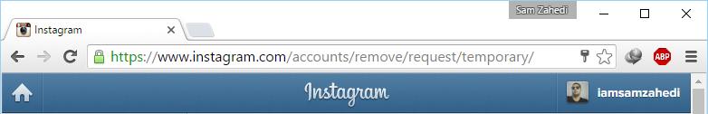 آموزش حذف کامل اکانت اینستاگرام!
