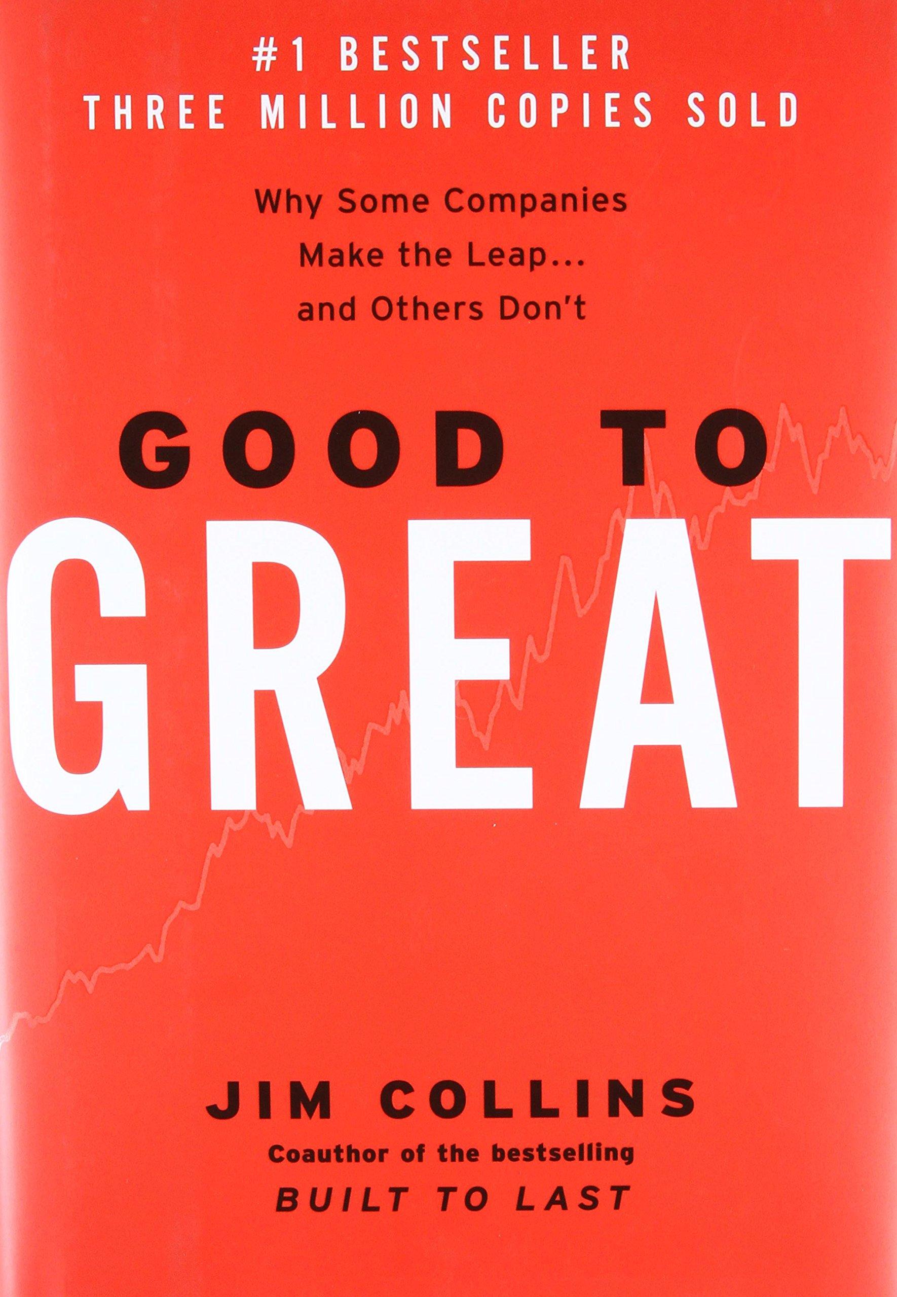 کتاب از خوب به عالی نوشته جیم کالینز