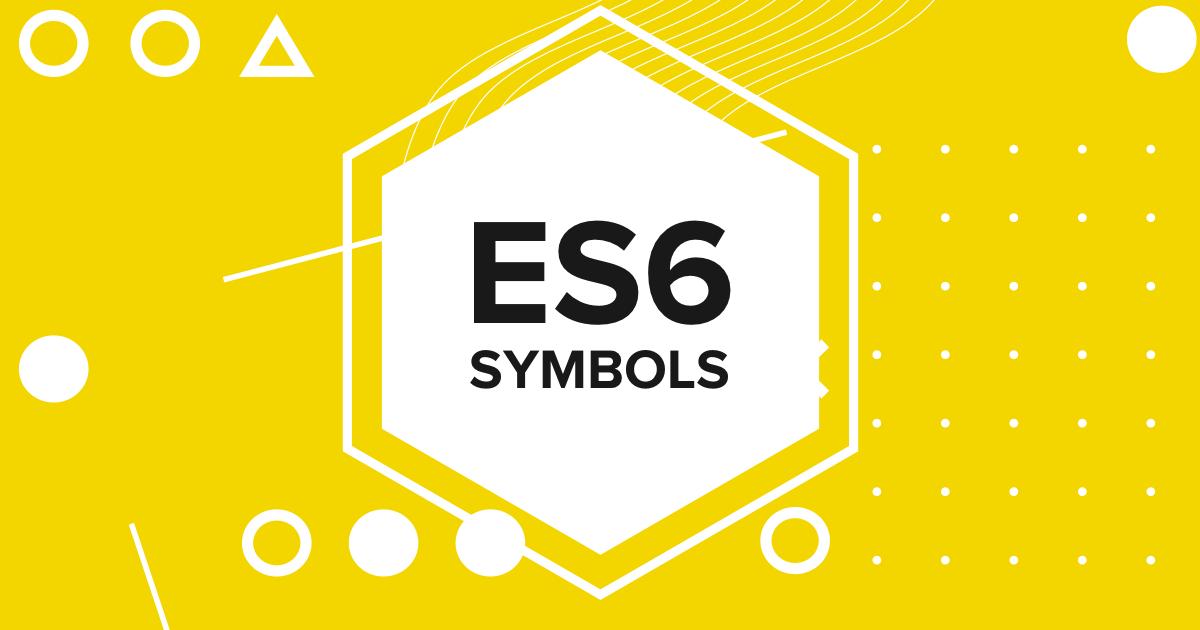 متغیر های نوع symbol در ES6