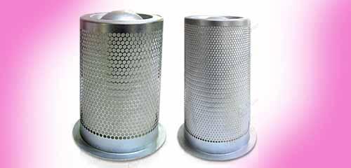 فیلتر سپراتور کاسه بیرونی و کاسه داخلی