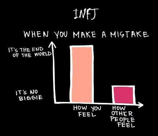 من یک INFJ حساس هستم