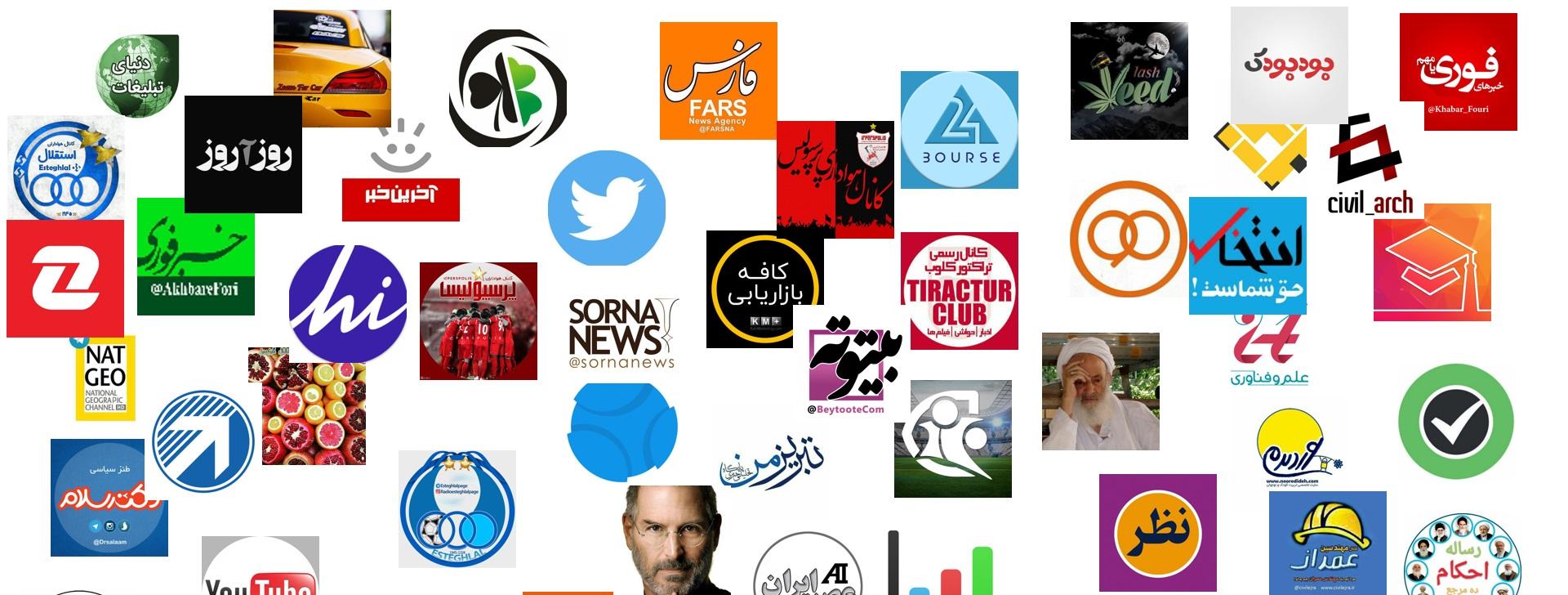 لیست کامل کانالهای تبلیغاتی تلگرام