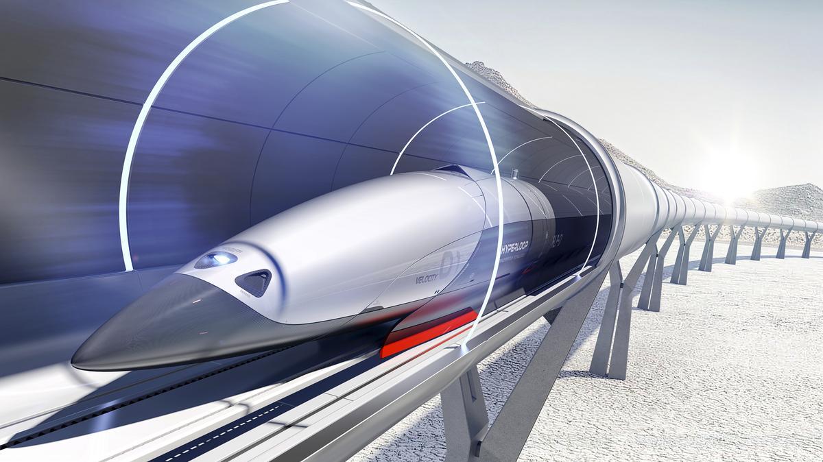 هایپرلوپ، حرکت با سرعت 1220 کیلومتر بر ساعت