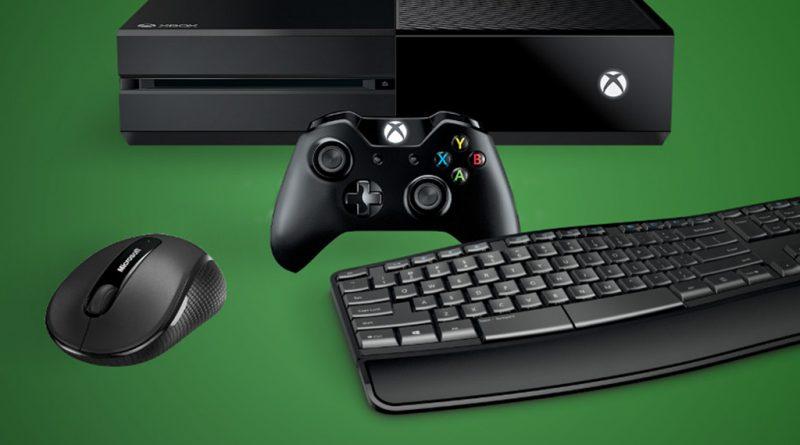 پشتیبانی Xbox One از ماوس و کیبورد