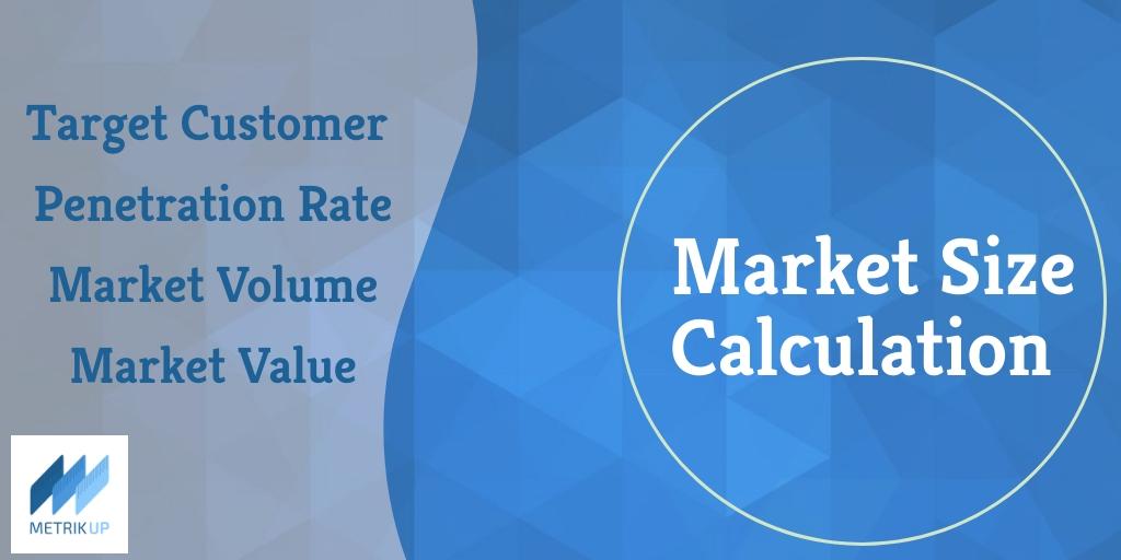محاسبه حجم و ارزش بازار
