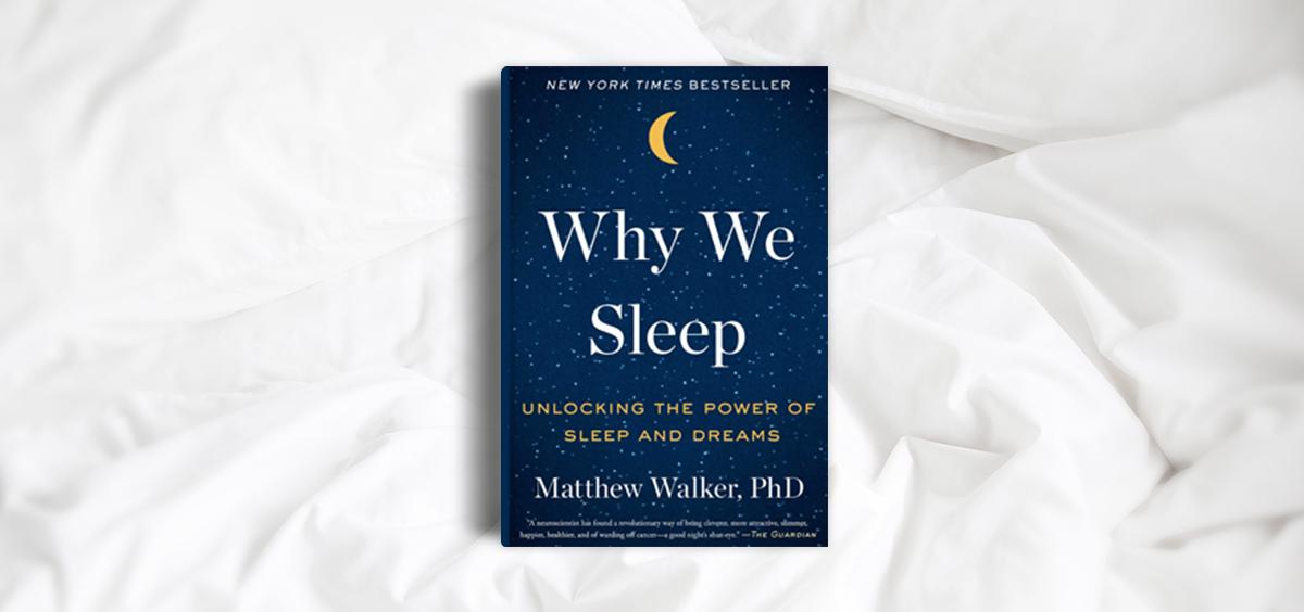 معرفی کتاب- چرا ما می خوابیم.