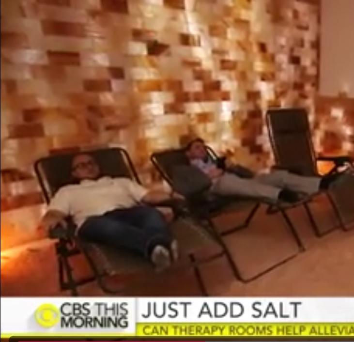 نمک درمانی در حل مشکلات تنفسی