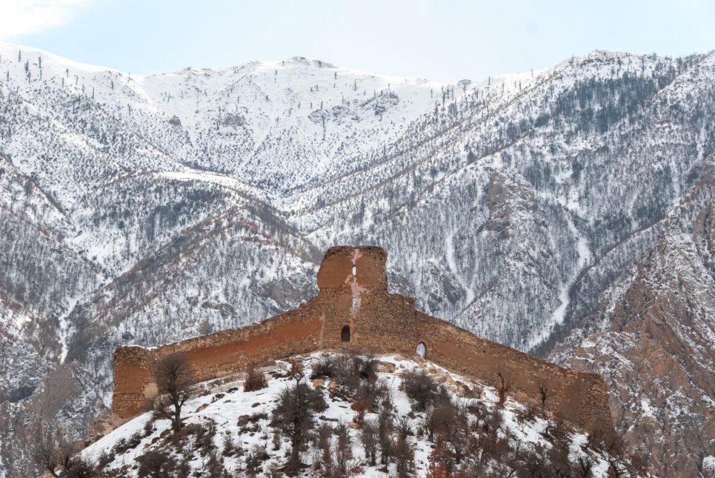 دژ کَنگِلو - نیایشگاه آناهیتا