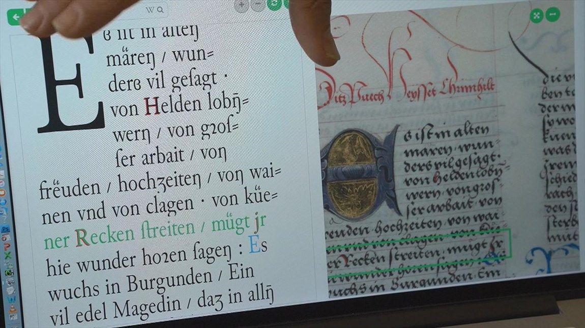 به کارگیری هوش مصنوعی در خواندن دست نوشته های باستانی