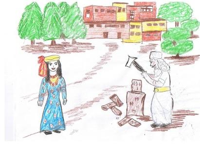 داستان موبد و خرس