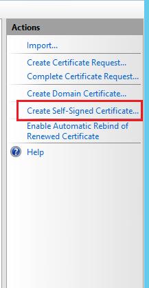 ایجاد گواهینامه SSL بصورت دستی