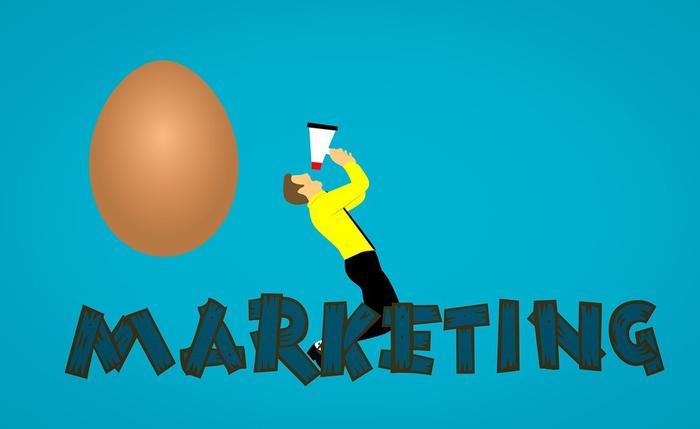 بازاریابی تخم مرغی !!
