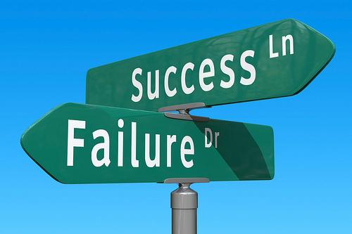 زمانش رسیده است که انتخاب کنی،موفقیت یا شکست؟