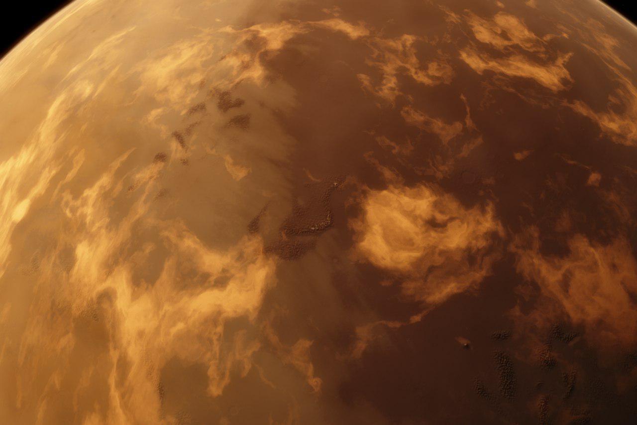 نمایی گسترده از Kepler-186f