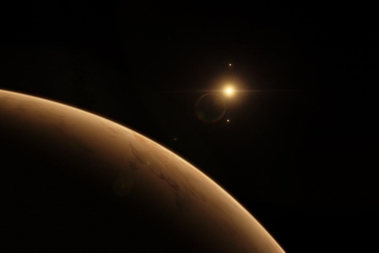 اتمسفر سیاره ی Kepler-186f