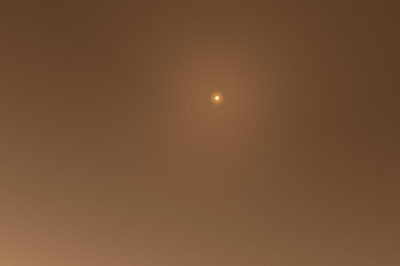 آسمان سیاره Kepler-186f