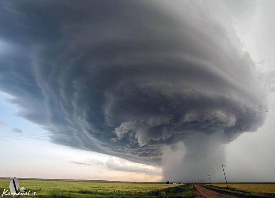 گردباد چرخشی / کانزاس / معبتر برای رابرت سینر