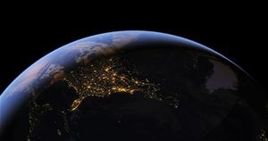 نمای زمین از فضا زمین از فضا ( زنده )