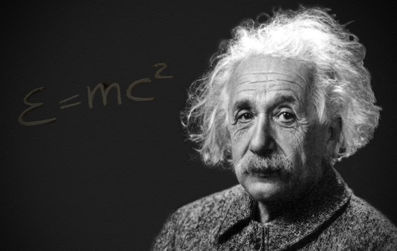 آلبرت انیشتین و معادله ی معروف نسبیت