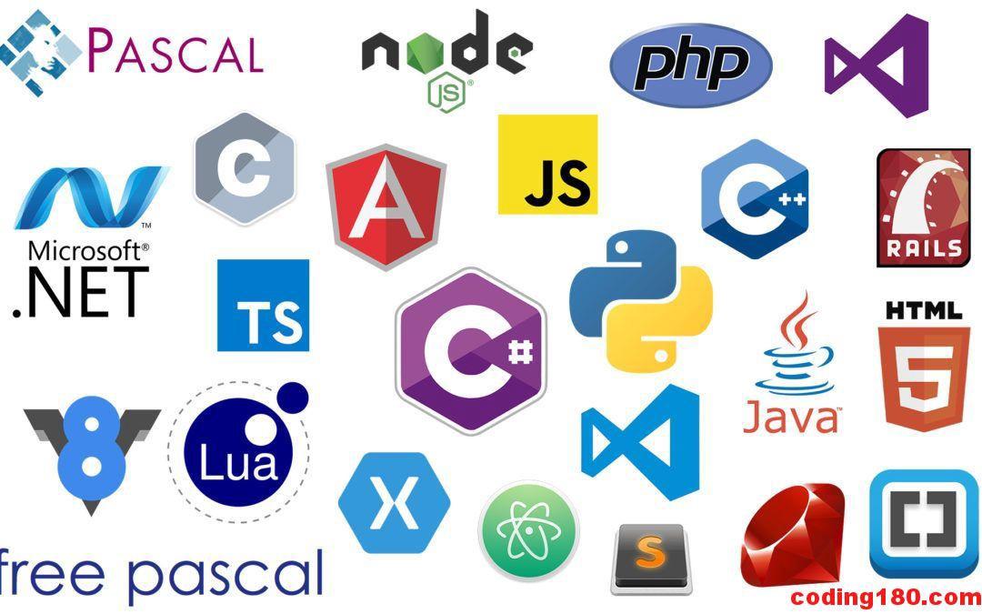 مناسب ترین زبان برای حوزه های مختلف برنامه نویسی