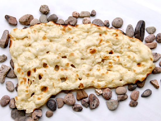 خواص نان سنگک، ابداع شیخ بهایی!