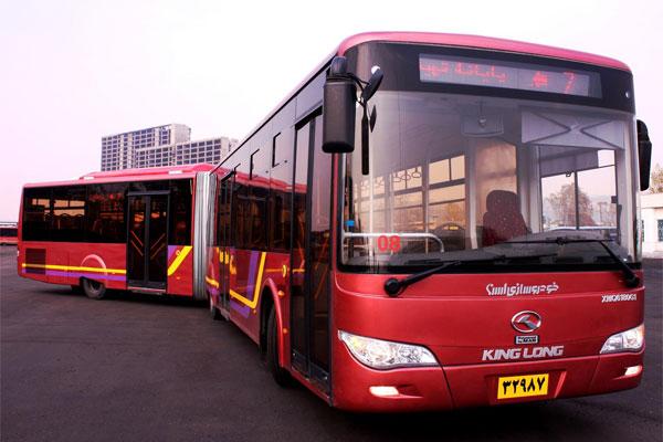 ده دقیقه در اتوبوس BRT