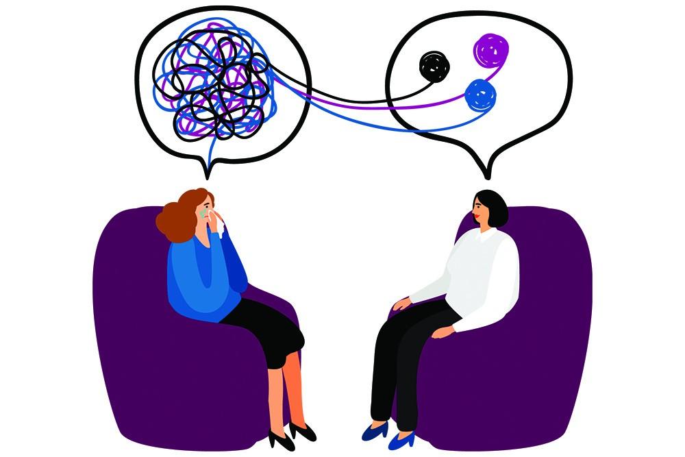 کاری که درمان گر میکنه اینه که موضوعاتی که تو ذهنمون به هم ریخته هستن رو نظم میده، یعنی با دیتای خودمون، به ما شناخت میده. زیبا نیست؟