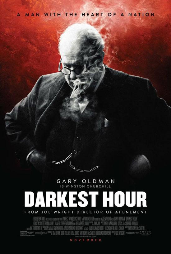 """همراه با """"تاریک ترین ساعت"""" در بریتانیا"""