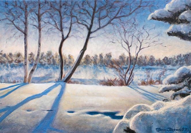 داستان| شنیدن صدای قدمهایمان روی برف