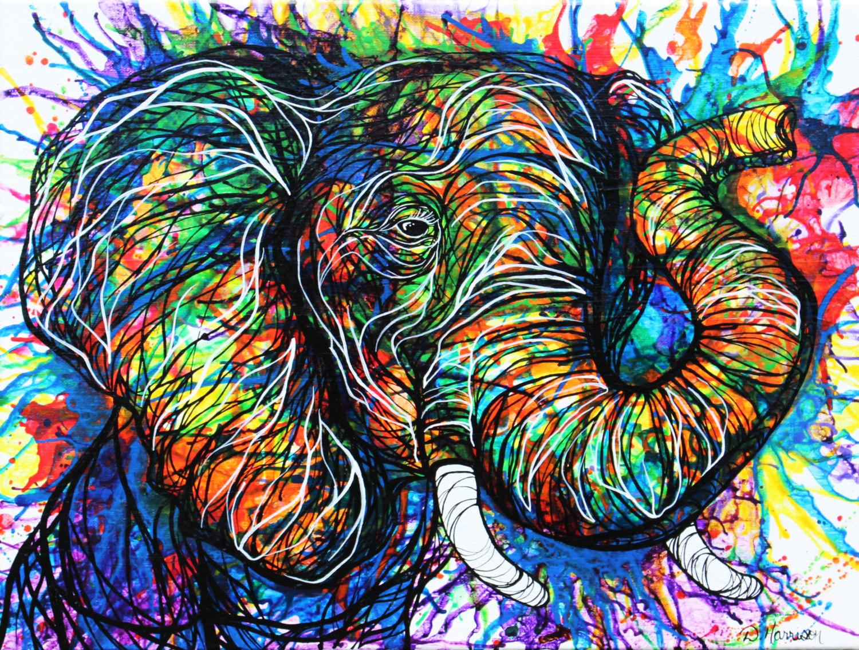 داستان| پیش پای فیل بزرگ خاکستریِ گُنده با چشمهایی غمگین