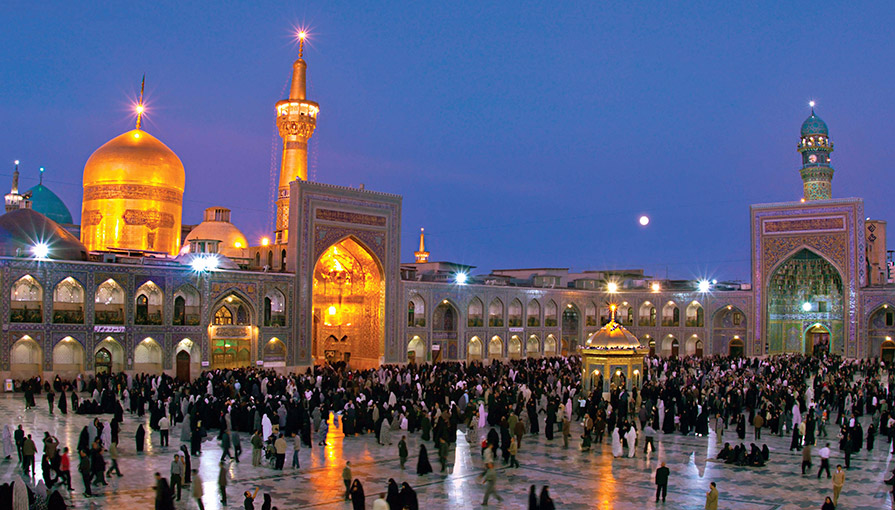 قطار تهران به مشهد