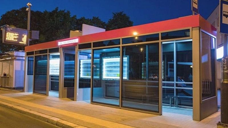 ایستگاههای اتوبوس هوشمند – ژشوف – لهستان
