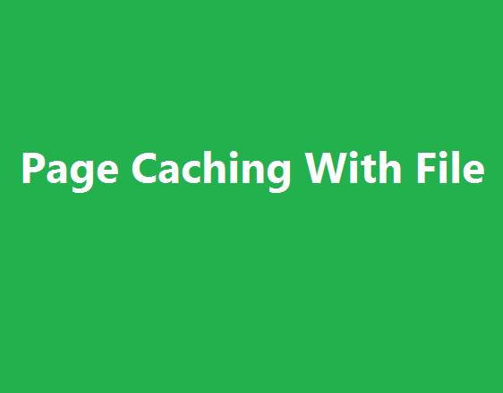 آموزش پیاده سازی Page Caching در php از پایه