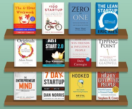 قبل از شروع کسب و کار جدید حتما این کتاب ها را مطالعه کنید(کتب مختص استارت آپ ها)