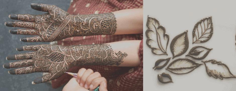 تاتو حنا | حنا آرایی | تاتو موقت حنا | حنا Henna Temporary tattoo